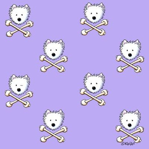 Small Playful Torrid Westies Purple