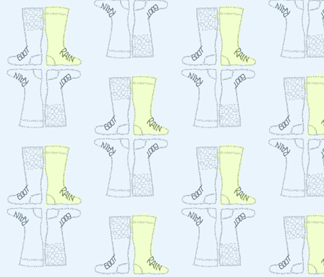 rain_boot_block_color fabric by hoopes_park_studios on Spoonflower - custom fabric
