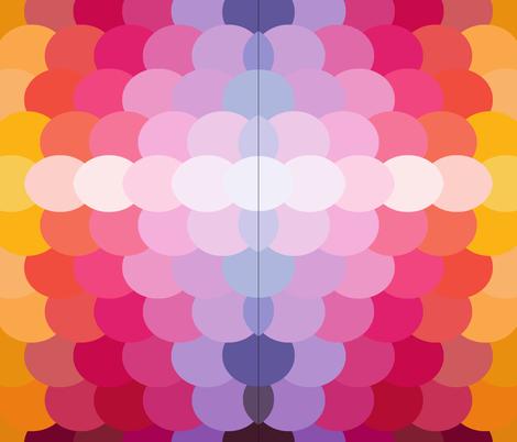 Rainbow fish fabric ourmisfitisle spoonflower for Rainbow fish fabric