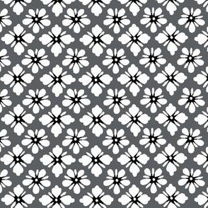 Washi - grey with coordinating dots