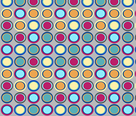 Baby Quilt Dots II fabric by vanillabeandesigns on Spoonflower - custom fabric