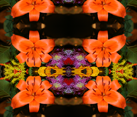 Tiger Lily fabric by teramom on Spoonflower - custom fabric