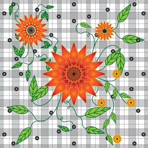 Fire_Flower_Orange_Plaid