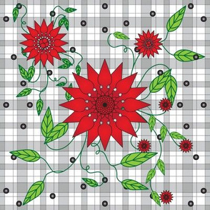 Fire_Flower_Red__Plaid