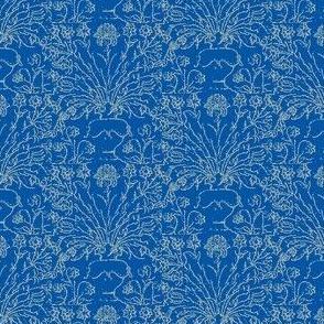 Taj Figures Blue