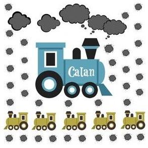 Choo Choo MED6- Personalized CALAN