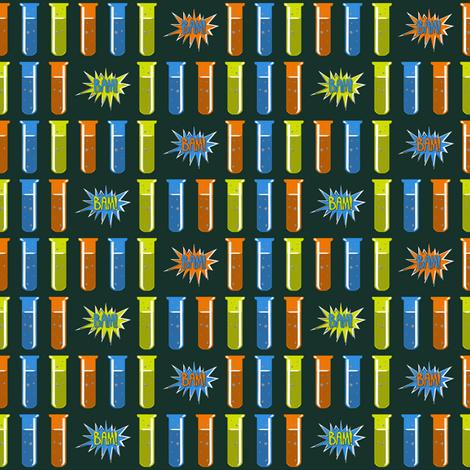 Test Tubes fabric by vannina on Spoonflower - custom fabric