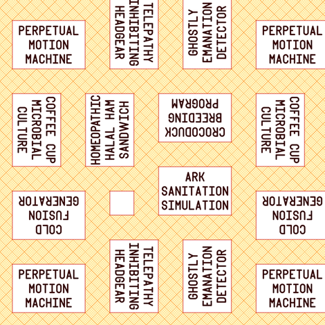 science fair presentations fabric by sef on Spoonflower - custom fabric