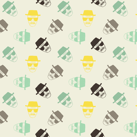 Le chef in colours fabric by susiprint on Spoonflower - custom fabric