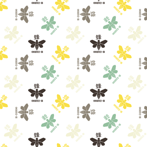 Moths #2 fabric by susiprint on Spoonflower - custom fabric