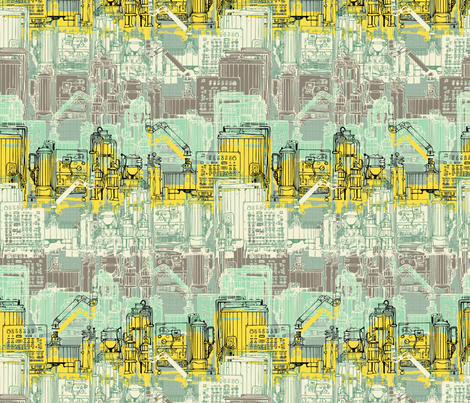Let`s cook fabric by susiprint on Spoonflower - custom fabric