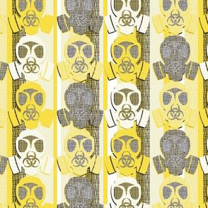 gas mask yellow