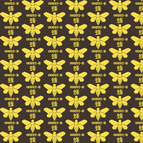The golden Moth fabric by susiprint on Spoonflower - custom fabric