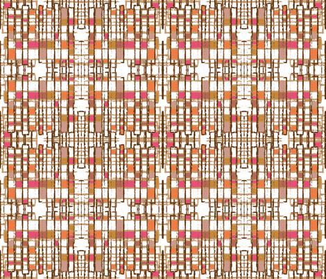 Shaggy Art Deco fabric by anniedeb on Spoonflower - custom fabric