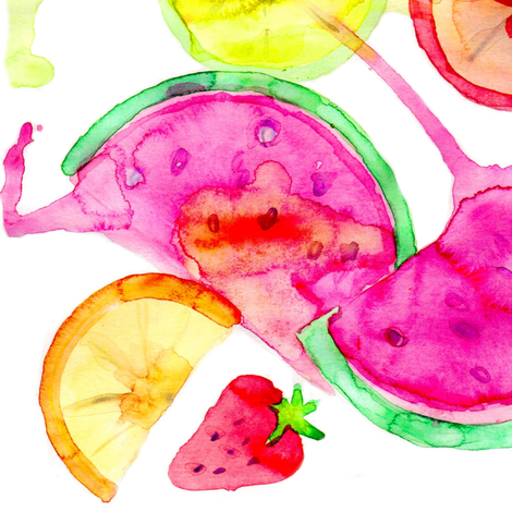 Fruit Salad fabric by erinanne on Spoonflower - custom fabric