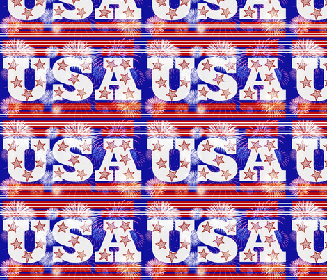 Wave the Flag! fabric by robin_rice on Spoonflower - custom fabric