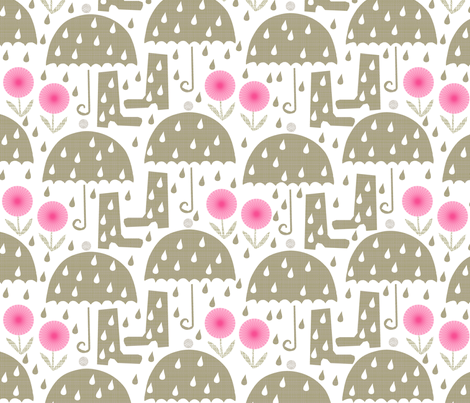rain fabric by ottomanbrim on Spoonflower - custom fabric