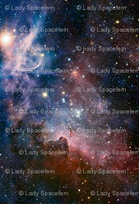 Carina Nebula 58x85 inches