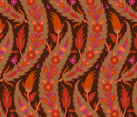 Serpentine 797b fabric by muhlenkott on Spoonflower - custom fabric