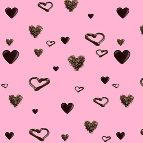 LUCY'S CHOCOLATE HEARTS