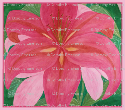 Pink_Lily_17x18_2013