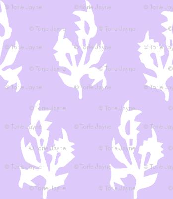 Maya block print in Lavender