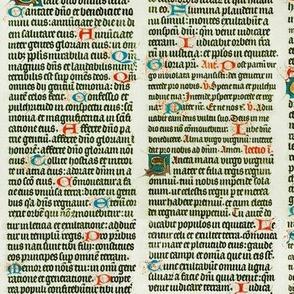 Manuscript Blackletter