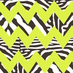zebra_chevron_on_lime