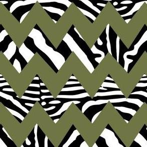 zebra_chevron_on_military_green