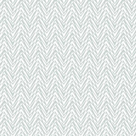 feather herringbone in white and grey fabric by weavingmajor on Spoonflower - custom fabric