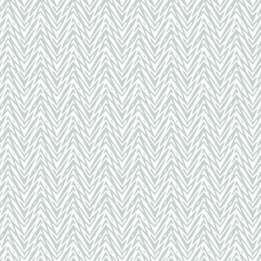 feather herringbone in white and grey