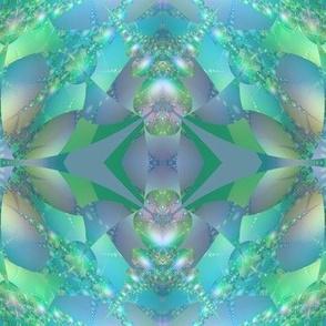 Aqua Bubble Fractal