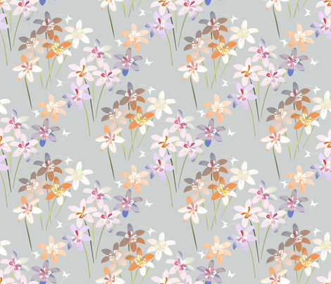 Daylily fabric by alfabesi on Spoonflower - custom fabric