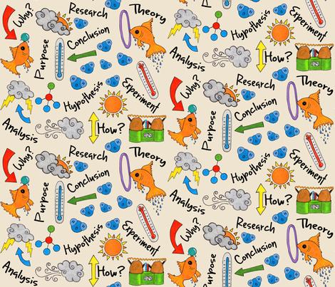 Science Fair Ideas fabric by creativefiasco on Spoonflower - custom fabric