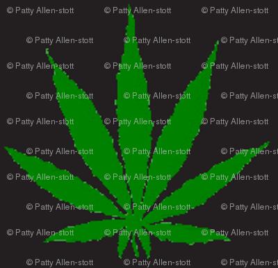 420 pot leaf - Diesel