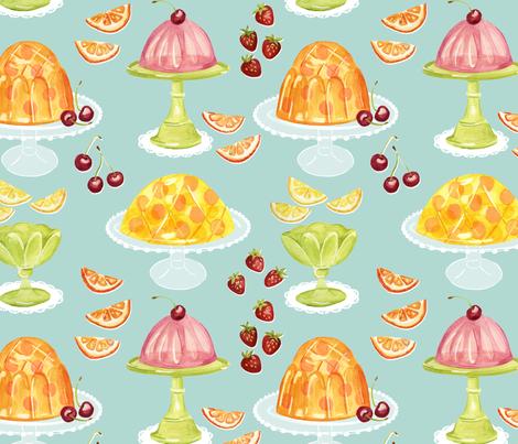 Fruity Dessert fabric by jillbyers on Spoonflower - custom fabric