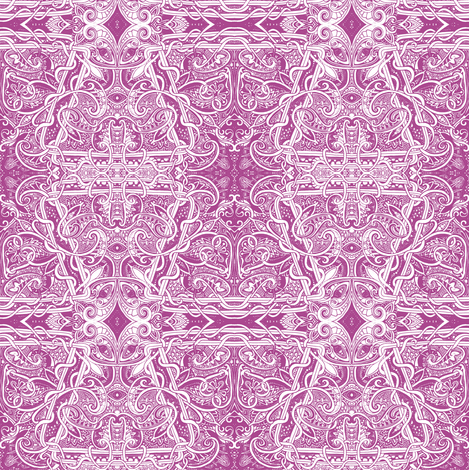 Twisting Victorian Vines fabric by edsel2084 on Spoonflower - custom fabric