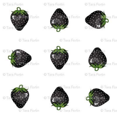 Black Strawberries