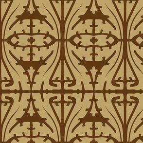 Art Nouveau Serpentine 1a