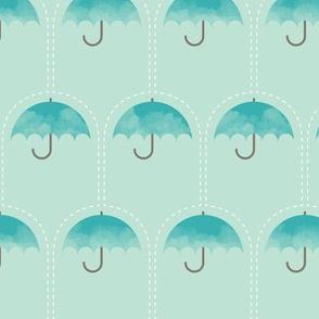 Umbrella Falls (Aqua)