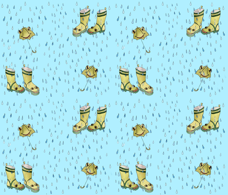 boots fabric by sarah845 on Spoonflower - custom fabric
