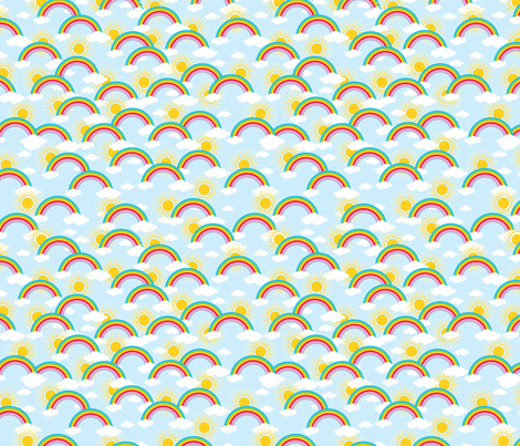 You are my sunshine fabric by littlefancypants on Spoonflower - custom fabric