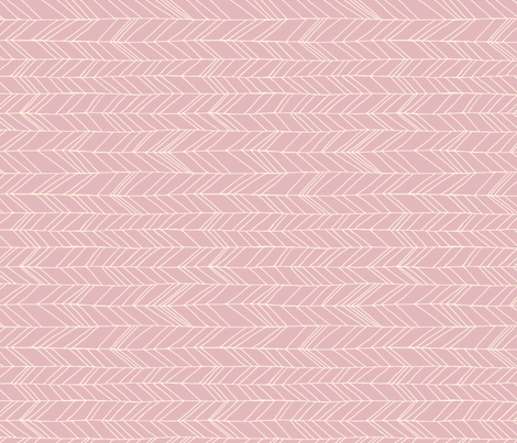 featherland dusty pink rotated fabric by leanne on Spoonflower - custom fabric