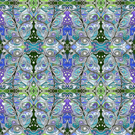 Stargate Gardens fabric by edsel2084 on Spoonflower - custom fabric