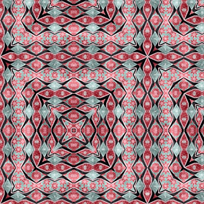 floral patchwork batik 5