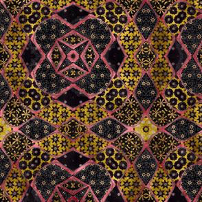 floral patchwork batik 7