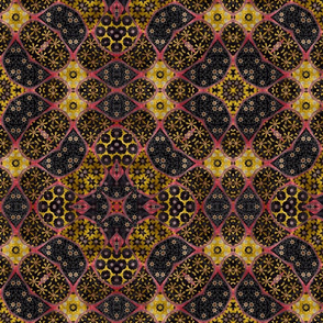 floral patchwork batik 10