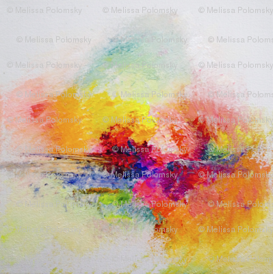 Colorful Painted Abstract