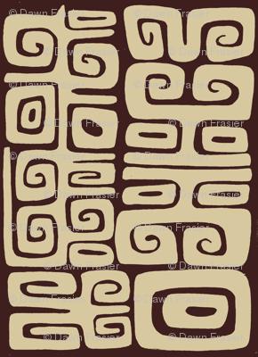 Abstactiva, Matuku, brown