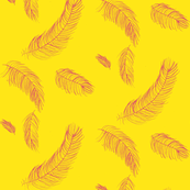 Raspberry lemonade feathers